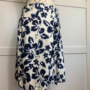 INC FLORAL SKIRT  SIZE 6